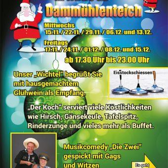 Flyer Weihnachtsveranstaltung vorn